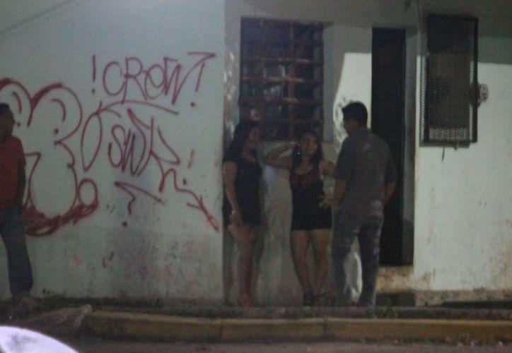 Se tiene un censo de personas que ejercen la prostitución y no supera los 50. (Archivo/SIPSE)