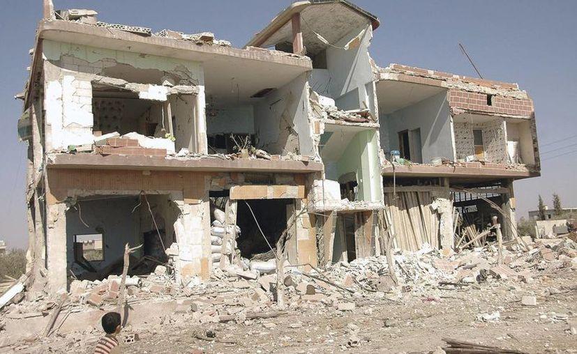 Más de 140 mil muertos ha dejado el conflicto en Siria. (EFE)
