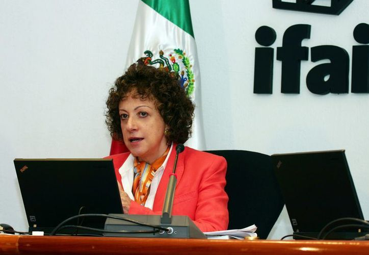 Jacqueline Peschard recordó que el 19 de enero concluye su segundo periodo como comisionada presidenta. (Archivo/Notimex)
