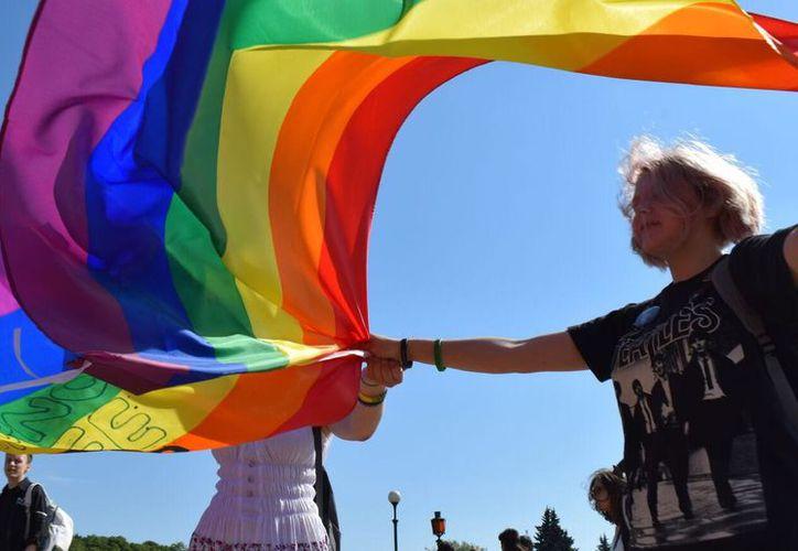 Miembros de la comunidad LGTB no están de acuerdo en la inclusión de la 'K' en el acrónimo del movimiento. (Foto: The Moscow Times)