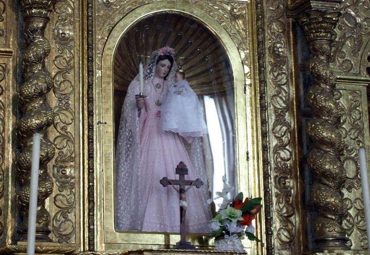 Imagen de Nuestra Señora de la Candelaria. (SIPSE)