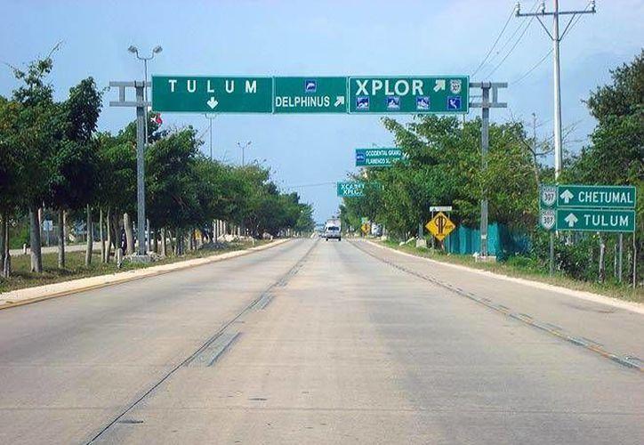 Las diferentes vías que comunican  a Quintana Roo se encuentran en excelentes condiciones. (Contexto/Internet)