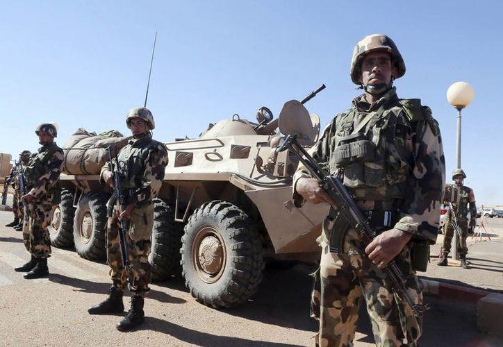 El resto de los terroristas lograron huir hacia Mauritania. (EFE)