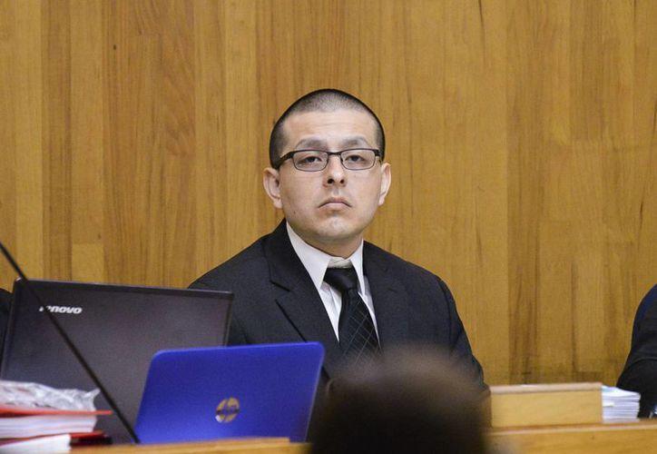 El exagente fronterizo Joel Luna recibirá su sentencia por delincuencia organizada el próximo 2 de marzo. (Jason Hoekema/The Brownsville Herald via AP)