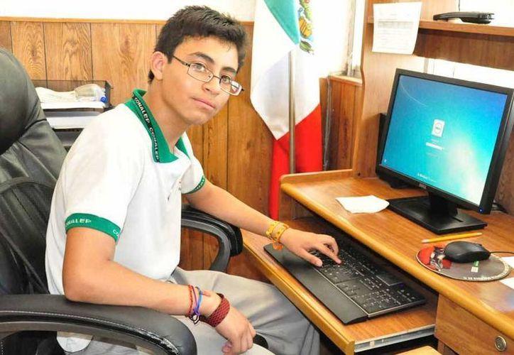 Información divulgada a inicios de julio indicaba que el joven mexicano fue 'cazado' por Google durante la Olimpiada Nacional de Informática, en mayo. (sandiegored.com)