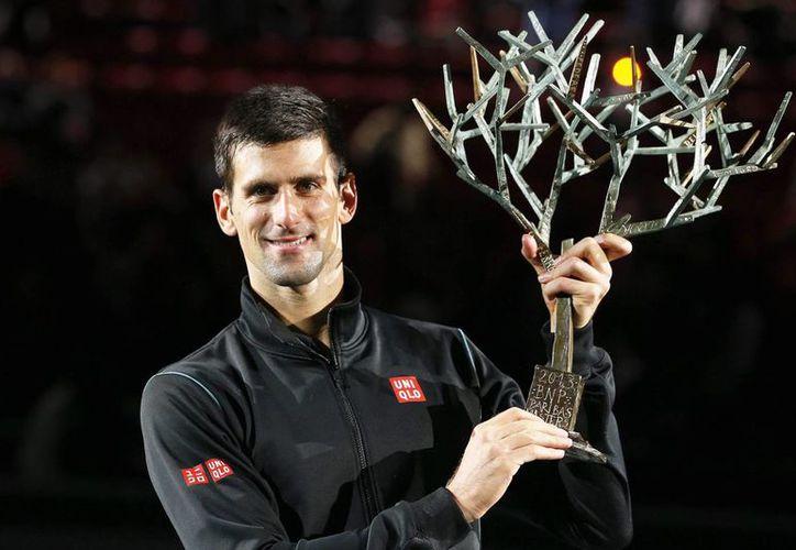 El serbio sumó su sexta victoria del año. (EFE)