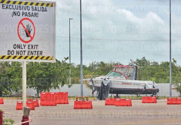 Una vez que las ambulancias fueron entregadas a los servicio de salud de las ínsulas, pasaron pocos meses para que estas fueran intercambiadas. (Foto: Redacción/SIPSE)