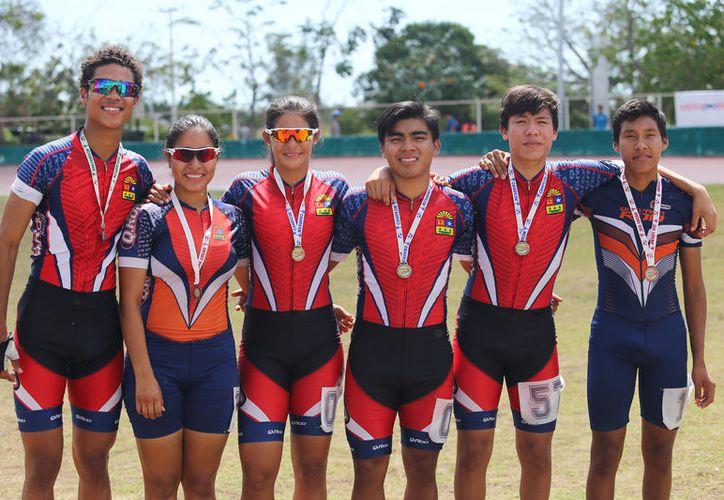 En este evento participaron los campeones nacionales de Patines sobre Ruedas. (Redacción/SIPSE).