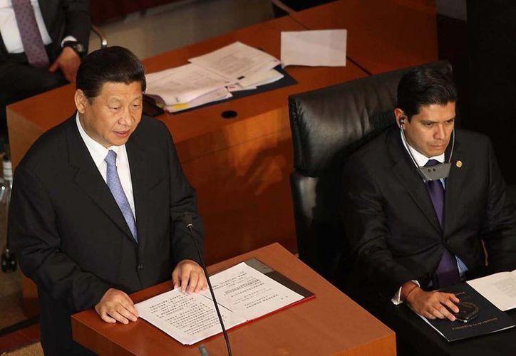 Tienen México y China responsabilidad compartida ante temas globales. (Notimex)