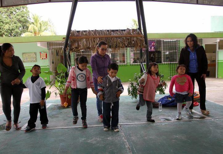 El Centro de Atención Múltiple 'Luis Braille' cuenta hoy día con 82 alumnos. (César González/SIPSE)