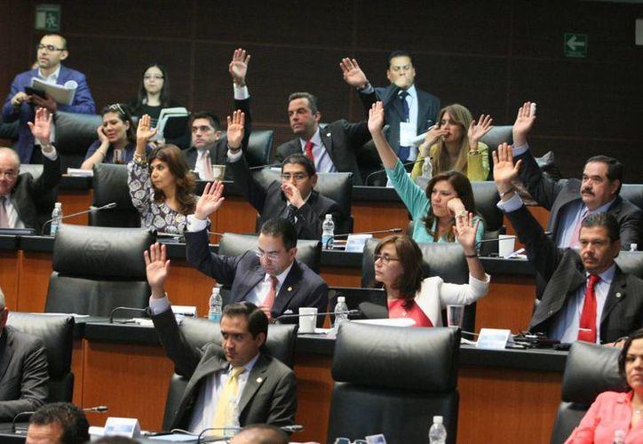 En el Senado de la República quedó la iniciativa, esperando que pronto entre el vigor. (Notimex)
