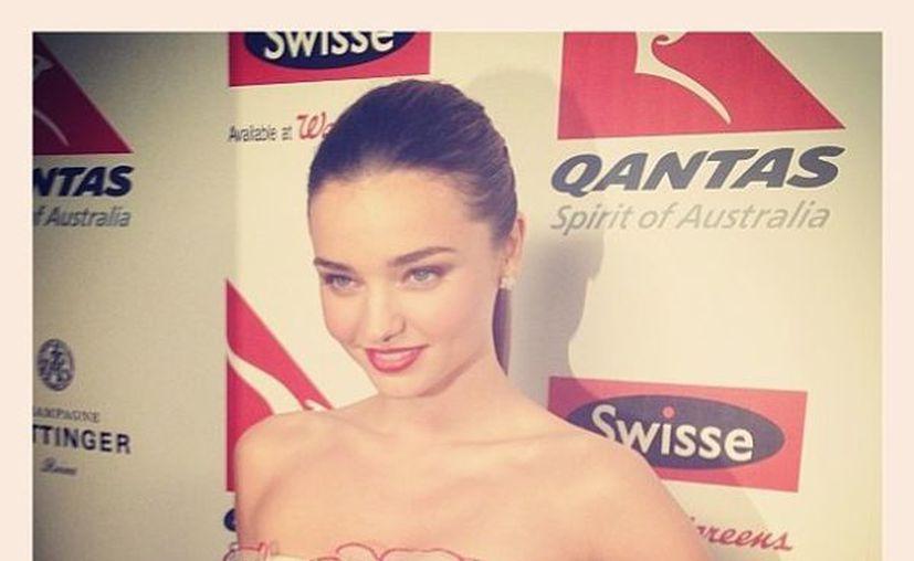 La modelo australiana Miranda Kerr estará acompañada de su esposo Orlando Bloom. (instagram.com)