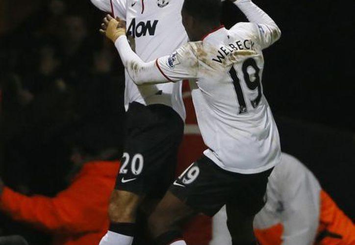 El Manchester United estuvo a punto de estar eliminado de la FA Cup. (Foto: Agencias)
