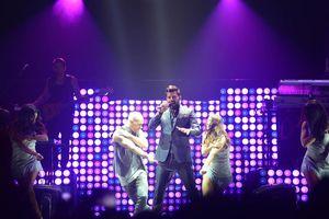 Concierto de Ricky Martin en el Coliseo Yucatan