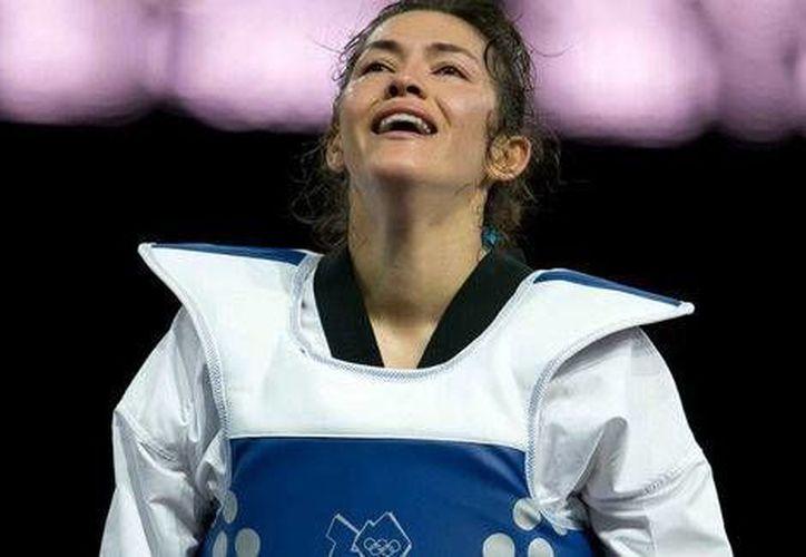 La tae kwondoín sinaloense María Espinoza comenzó con el pie derecho su temporada. (Mexsports.com)