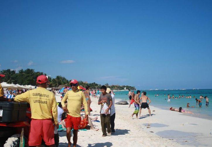 Se espera un incremento en el arribo de turistas en esta temporada. (Loana Segovia/SIPSE)