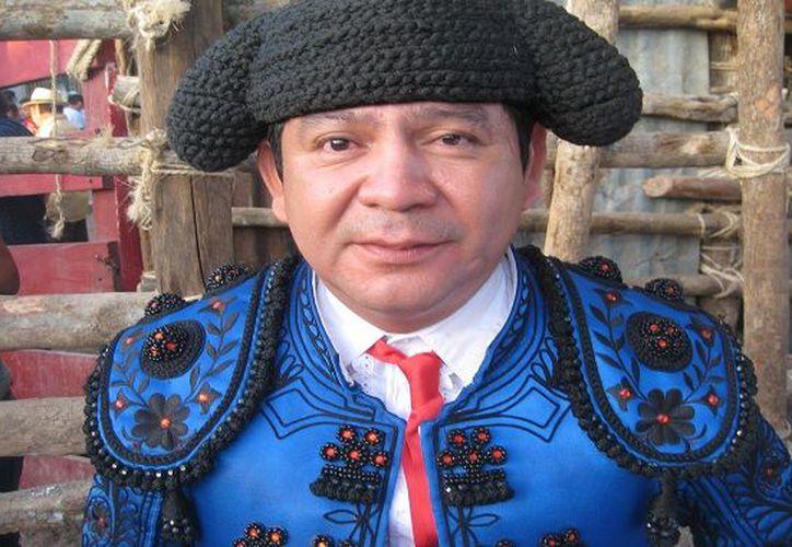 Claudio de Jesús Campos 'El Teto' Morales, de 44 años, era un torero cuya familia también está dedicada a la  a la tauromaquia. (Especial)