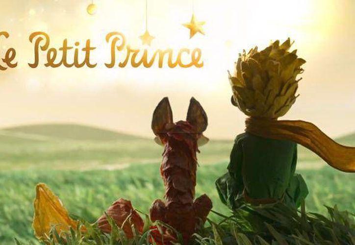 La nueva versión de 'El principito',cuento de Antoine de Saint-Exupéry, será estrenada en el Festival de cine de Cannes. (Foto tomada de http://lajornadajalisco.com.mx)