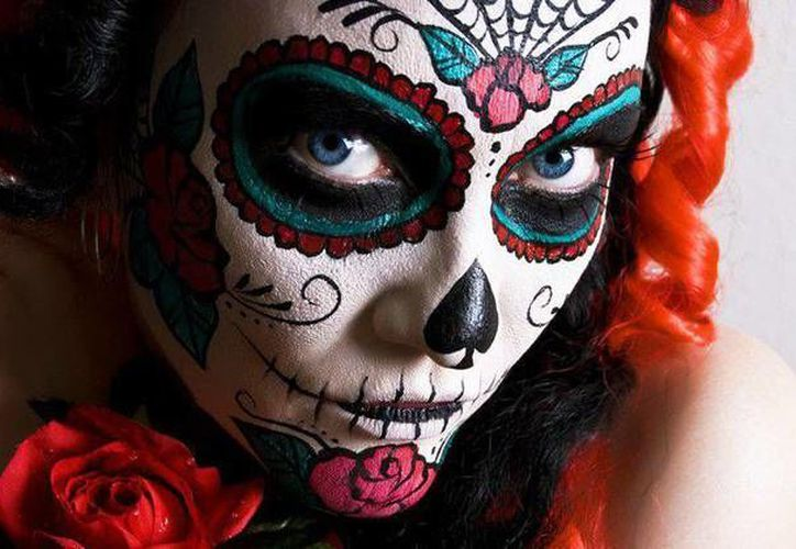 La exposición de piezas de arte se titula 'La muerte se pinta sola' y estará en el Museo de la Cultura Maya el próximo martes 26 de octubre. (imagen ilustrativa/Internet)