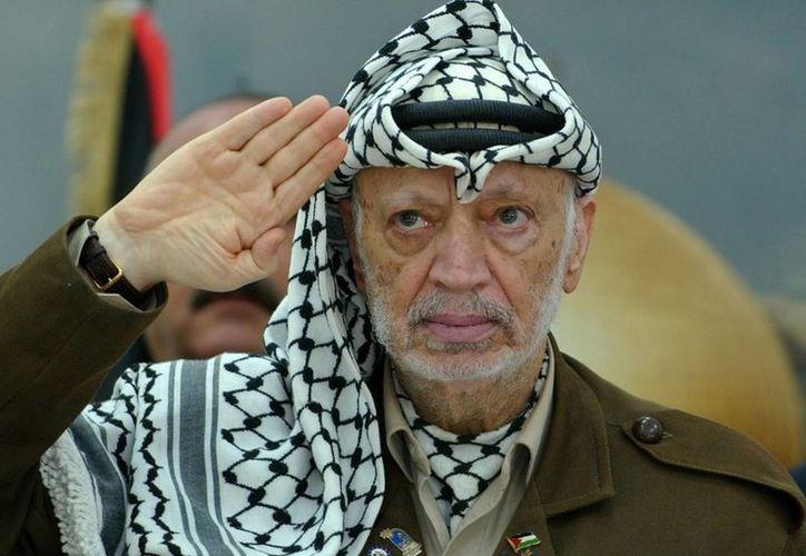 Palestina acusa a Israel de asesinar con polonio 210 a su máximo líder, Yasser Arafat. (Archivo/AP)