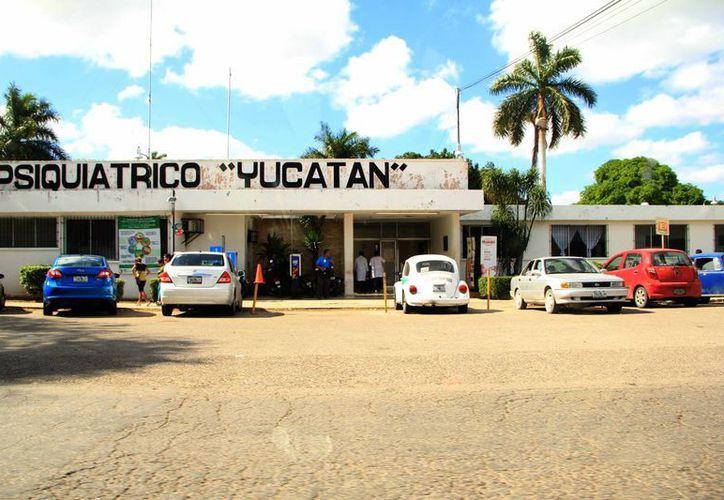 Imagen de las instalaciones del Hospital Psiquiátrico Yucatán que fue fundado en 1978. (Milenio Novedades)