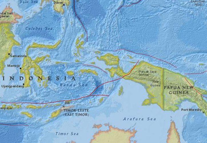 Papua Nueva Guinea se encuentra dentro del llamado Anillo de Fuego, una zona de fallas sísmicas en el océano Pacífico, por lo que los terremotos son comunes. (earthquake.usgs.gov)