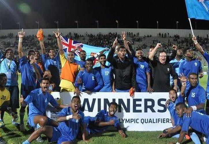 La selección de Fiji formará parte del grupo de México en los Juegos Olímpicos 2016, también enfrentará a Alemania y Corea del Sur. (Foto tomada de FIFA.com)