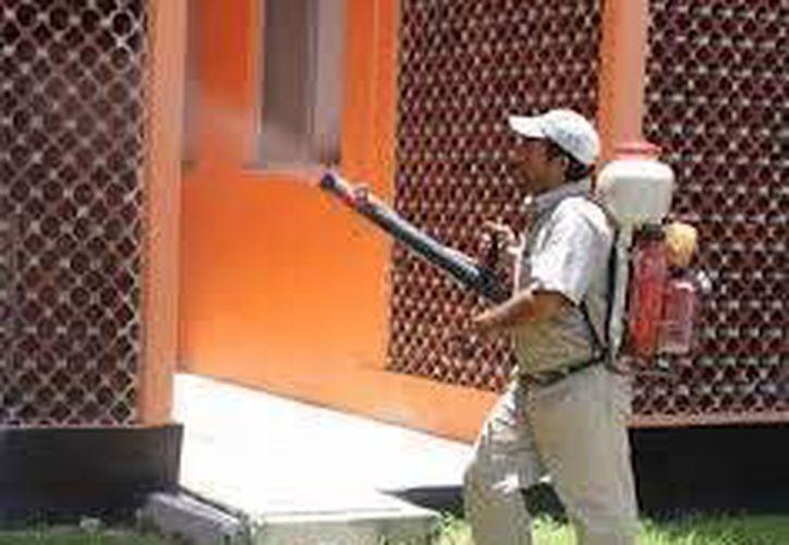 Inician programa intensivo de nebulización en las colonias. (Adrián Barreto/SIPSE)