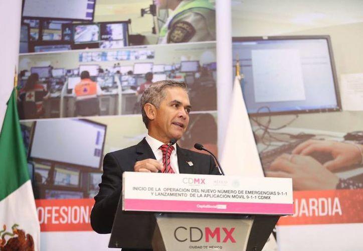El jefe de Gobierno, Miguel Ángel Mancera, dijo que México está viviendo un momento muy complicado. (twitter.com/ManceraMiguelMX)