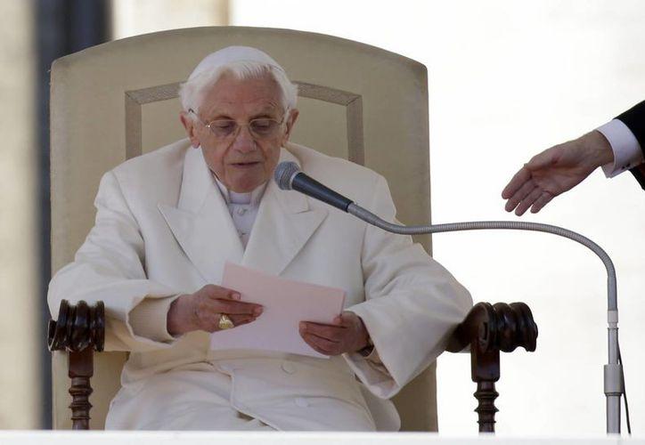 """El Papa llamó a los fieles a renovar su """"firme confianza en Dios"""". (Agencias)"""