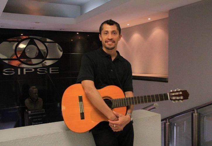 Pepe Vales dijo sentirse feliz de regresar a Yucatán. (José Acosta/SIPSE)
