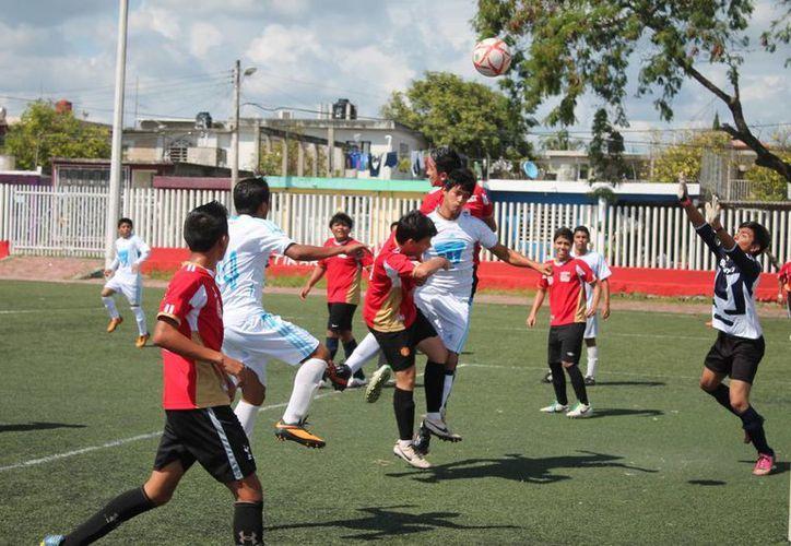 Deportivo Pumas deja el marcador 5-1 a favor y Bagres vence en penales a Deportivo Royel; son los favoritos de su categoría. (Miguel Maldonado/SIPSE)