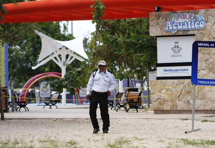 Parque Acuático de Animaya permanece cerrada desde el jueves. (Milenio Novedades)