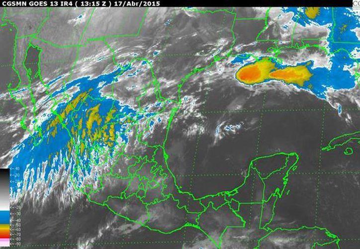 Un sistema de circulación anticiclónica mantendrá temperaturas de cálidas a calurosas sobre la mayor parte de la República mexicana. (smn.cna.gob.mx)