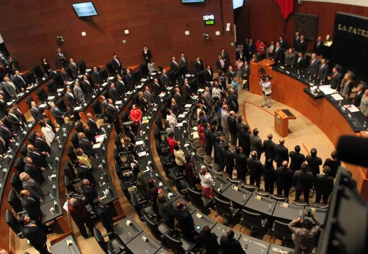 Diputados federales y senadores están citados a la sesión de Congreso General para la apertura de este periodo de sesiones a las 11:00 horas de este sábado. (Notimex/Archivo)