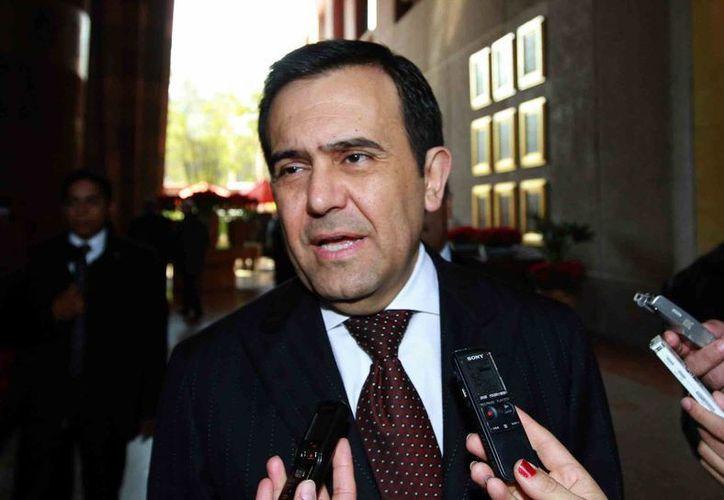 Guajardo rechazó que el caso de la hija del procurador en el restaurante Maximo Bistrot haya afectado la imagen de la depencia pública. (Notimex)