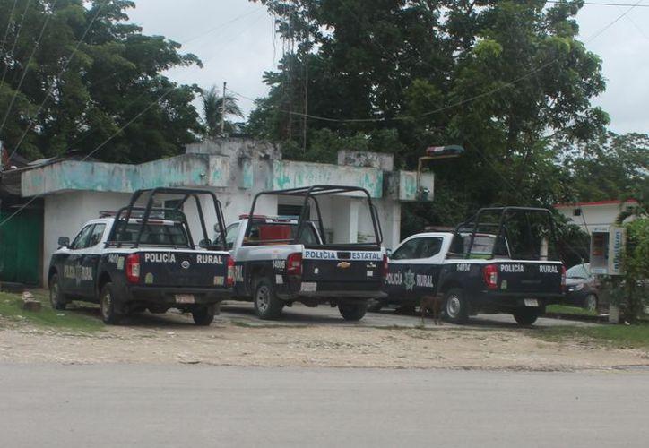 El año pasado, la Policía Estatal Rural abandonó la partida en la comunidad de Javier Rojo Gómez. (Carlos Castillo/SIPSE)