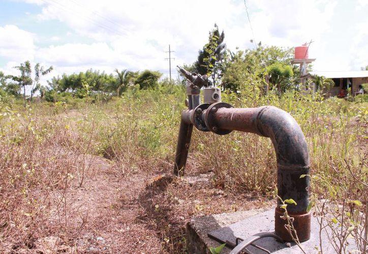 Este delito afecta directamente a los hombres del campo: la poca infraestructura de riego que existe es saqueada por presuntos maleantes. (Redacción/SIPSE)