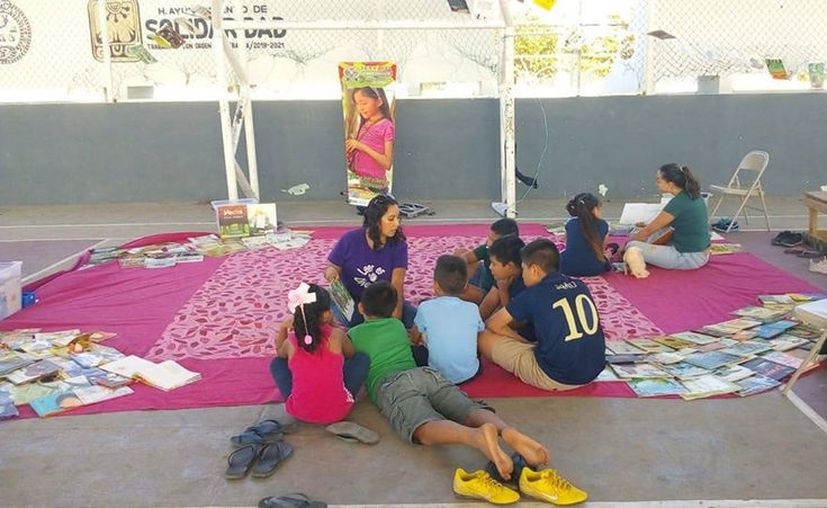 El concurso literario está dirigido a la población infantil que cursa la primaria. (Octavio Martínez/SIPSE)