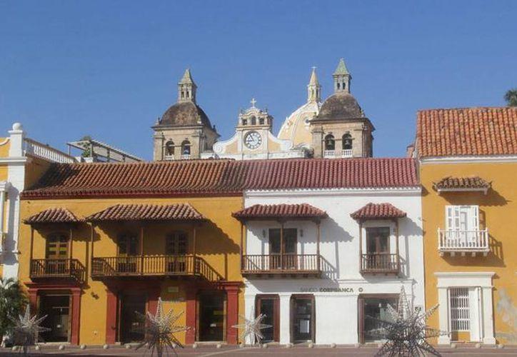 Imagen del Claustro La Merced de la Universidad de Cartagena, en donde reposarán las cenizas del escritor, Premio Nobel de Literatura, Gabriel García Márquez. (NTX)