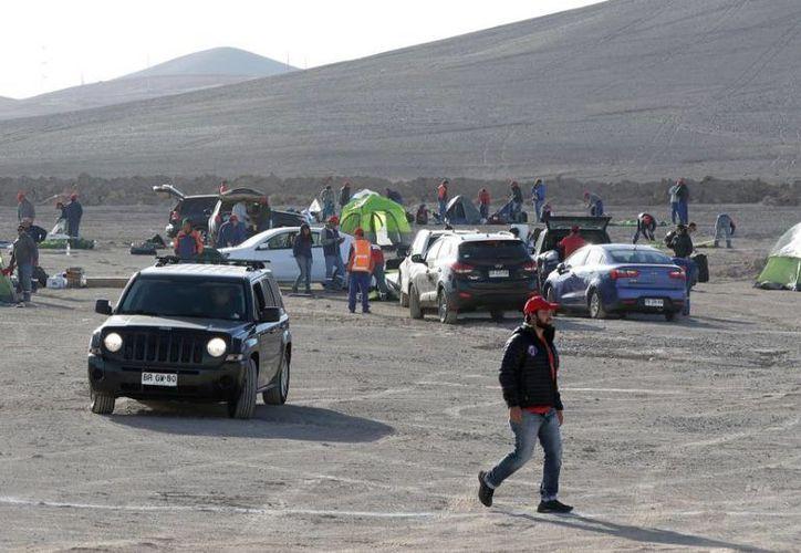Los dos mil 500 trabajadores de la minera iniciaron la huelga el jueves. (Reuters)