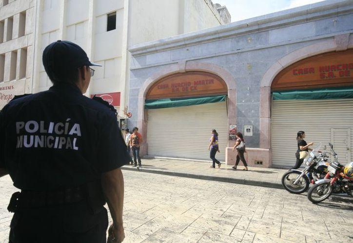 """Los ladrones entraron a Casa """"Huacho Martín"""", por el techo. (Jorge Sosa/SIPSE)"""