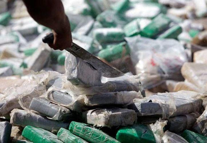 Se han incautado 2.7 toneladas de droga en 2014. (Archivo/AP)