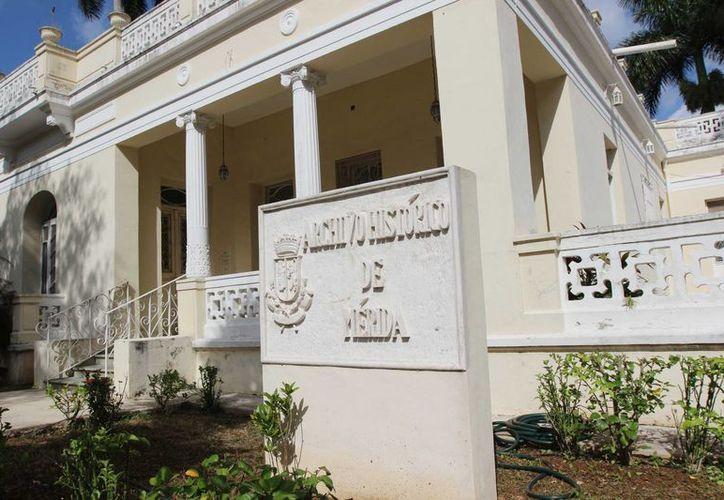 El Archivo Histórico de Mérida se ubica en una casona del Paseo de Montejo con calle 39. (Cortesía)