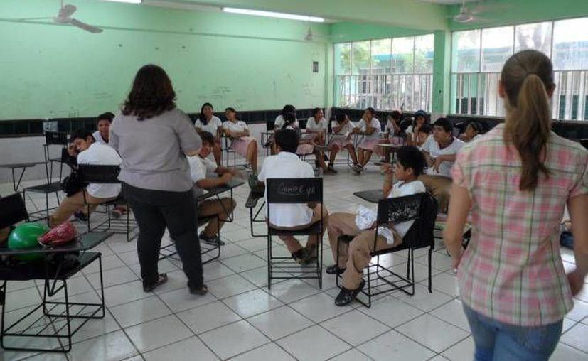 Especialistas afirman que el tema ambiental se debe aplicar de manera ordenada en los planes de estudio de las escuelas yucatecas. (Archivo/ SIPSE)