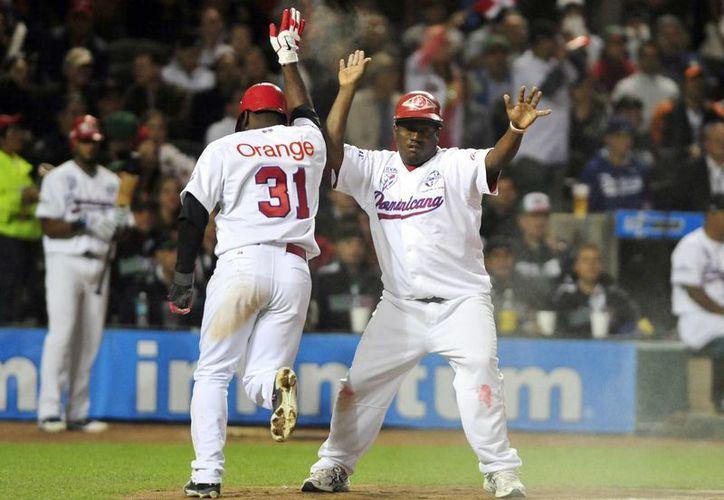 Dominicana abrió el marcador en la segunda entrada. (Foto: EFE)