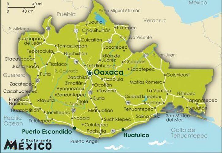 El movimiento telúrico tuvo su epicentro a 17 kilómetros al norte de Matías Romero. (explorandomexico.com)