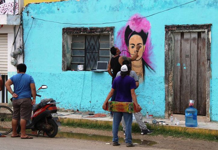 El único dato con el que se cuenta, es que el municipio de Othón P. Blanco existen 70 murales. (Joel Zamora/SIPSE)