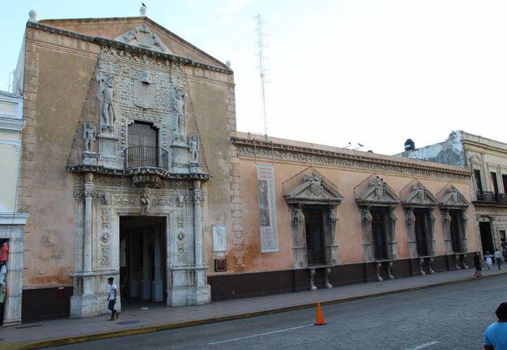 La Casa de Montejo es una de las más importantes obras de la arquitectura civil española en Yucatán. (Sergio Grosjean/SIPSE)