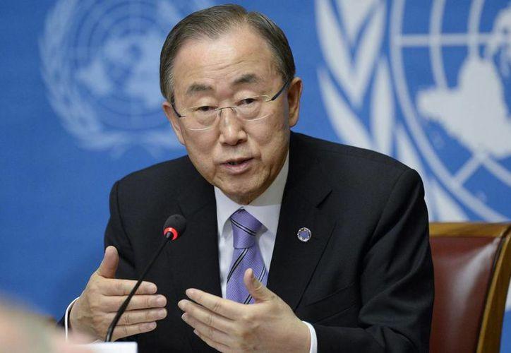 El secretario general de la ONU, Ban Ki-moon, dijo que la pena capital es aplicada de manera sesgada contra las poblaciones más vulnerables. (Archivo/Notimex)
